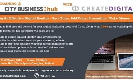 CBH Event – Finding an Effective Digital Routine with Create Digital NI