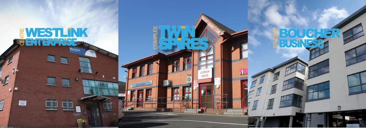 Ortus Properties - Westlink Enterprise Centre, Twin Spires Complex, Boucher Business Studios