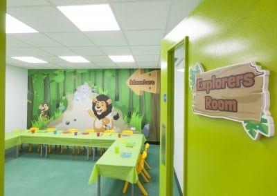 Roar and Explore - Party Room - Explorers Room